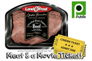 $4.50 Meat+Movie Ticket Deal @ Publix! (10/1-21)