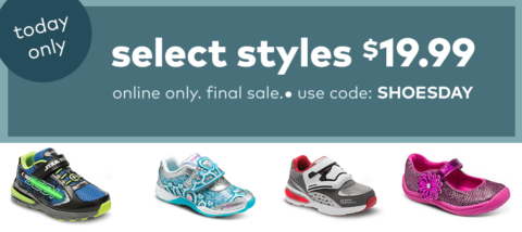 photograph relating to Stride Rite Printable Coupons identified as $20 Little ones Footwear! How toward Keep For Free of charge with Kathy Spencer