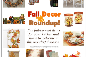 Fall Decor Roundup ~ Festive Items for All Budgets!