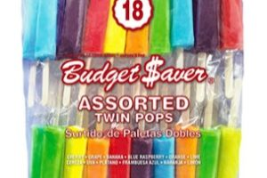 $1.50 Budget Saver Popsicles @ Dollar General