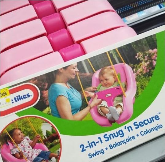 Little Tikes Swing Clearance 7 00 At Walmart How To