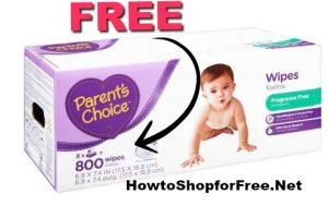 FREE Parents Choice Baby Wipes!!