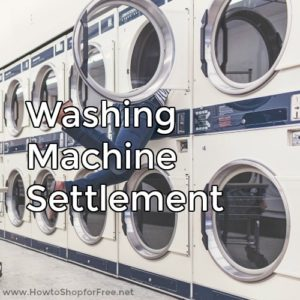 Washer Settlement! | How to Shop For Free with Kathy Spencer