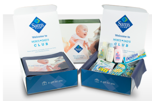 Free Samples with Sam's Club Moms & Dads Club!