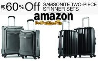 *Deal of the Day* Up to 60% Off Samsonite 2pc. Spinner Sets