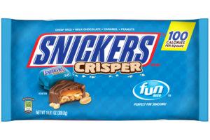 Mmmm, $1.38 Snickers Crisper Fun Size @ DG!!