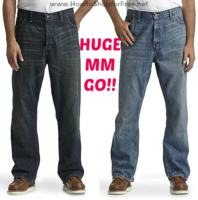 HUGE MM Men's Big & Tall Jeans from Kmart!