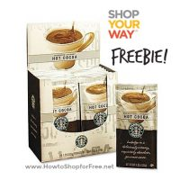 FREE Starbucks Gourmet Hot Cocoa 24ct—Perfect for Fall/Winter!