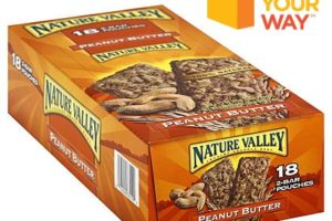 FREE Nature Valley Granola Bars 18-pack!
