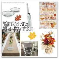 Thanksgiving Table Essentials from Amazon!