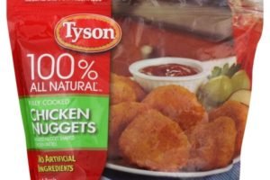 $2.15 Tyson Chicken Nuggets at Publix! (9/8-14)