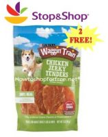 2 FREE Wagon Train Dog Treats at Stop & Shop!