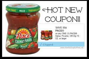 HOT New Coupon ~ $0.50/1 Pace Dip!