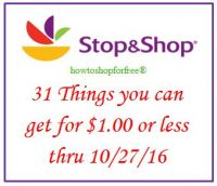 31 things you can get for $1 or less, even FREE at Stop & Shop!