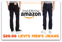 *Prime Deal of the Day* Mens Levi's for $29.99!