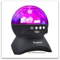 $6.99 Disco Ball Light with Bluetooth Speaker w/ Coupon Code!