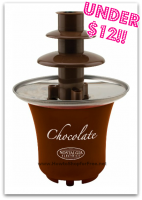$11.99 Nostalgia Electrics Mini Chocolate Fountain!! OMG!