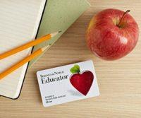 Barnes & Noble Educator Appreciation Days! (10/8-16)