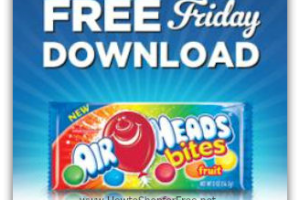 10/14: Kroger & Affiliates ~ Free Airheads Bites or Bars!