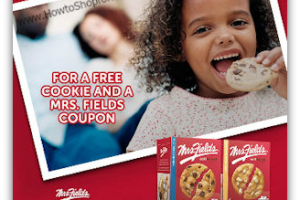 Free Mrs. Fields Cookie + Coupon off a Box!