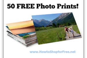 50 FREE Photo Prints for Amazon Prime Members!