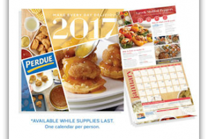 HURRY ~ Free 2017 Perdue Recipe Calendar!