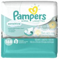 $4.89 Pampers Sensitive Wipes 168ct ~ Wow!
