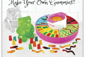 Electric Giant Gummy Candy Maker UNDER $30! (Save $5) Fun!!!