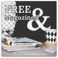 Todays FREE Magazine Offers