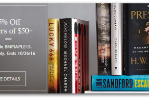Shop for Gifts at Barnes & Noble ~ 15% off Coupon Code!