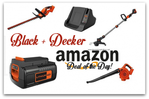 *Deal of the Day* Up to 30% off BLACK+DECKER 40V Outdoor Power Tools