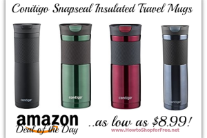 *Deal of the Day* Conitigo Snapseal Insulated Travel Mugs, as low as $8.99!
