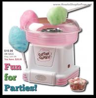 $19.99 Nostalgia Electrics Cotton Candy Maker (Reg/$46) WOW!