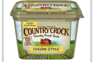 Today Only, $1.30 Country Crock 45oz. at Winn-Dixie!