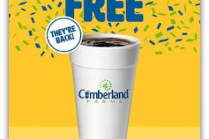 It's Free Coffee Friday at Cumberland Farms!