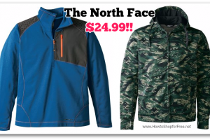 OMG! $24.99 The North Face Sweatshirts (Reg/$70-$75)
