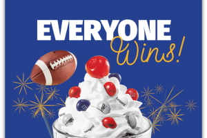 Free Patriots Sundae @ Friendly's day after Patriots WIN!