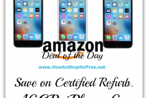 *Deal of the Day* Save Big on a Certified Refurbished iPhone 6s (16GB)