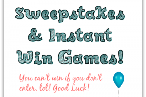 Sweepstakes Round Up – Enter to Win BIG!