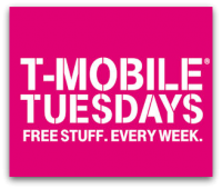 12/06: T-Mobile Tuesday = FREEBIES!