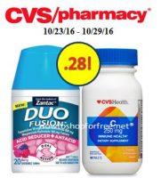 Duo Fusion and Vitamins only .28 at CVS!