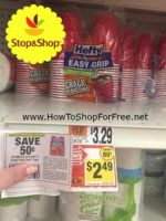Hot Deal! Hefty Cups only $1.49 at Stop & Shop!