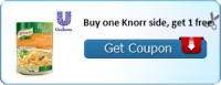 Fire Up Your Printer! BOGO Knorr Sides Coupon!