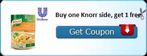 Fire Up Your Printer! BOGO Knorr Sides Coupon!