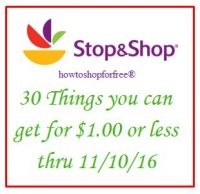 30 things you can get for $1 or less, even FREE at Stop & Shop!
