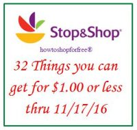 32 things you can get for $1 or less, even FREE at Stop & Shop!