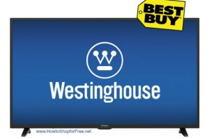 50″ Westinghouse LED Smart HDTV ~ $100 OFF, Today Only!