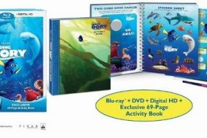 """""""Finding Dory"""" Film+Activity Book $12.99, Today Only!!"""