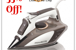$47 Rowenta Focus 1700W Micro Steam Iron—Deal of the Day!