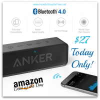 66% OFF Anker SoundCore Bluetooth Speaker *Deal of the Day*